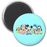 Bebê Mickey Mouse e amigos Imã De Refrigerador