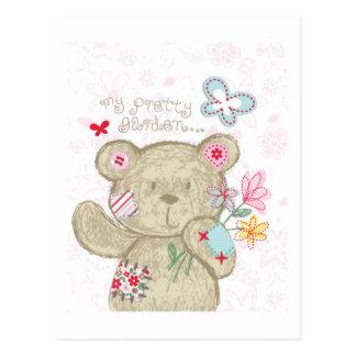 Bebê muito bonito do urso