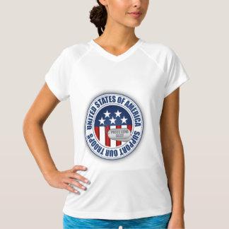 Bebê orgulhoso da guarda nacional do exército camiseta