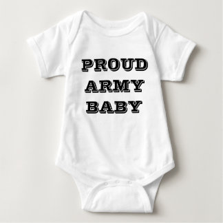 Bebê orgulhoso do exército do Creeper infantil Body Para Bebê