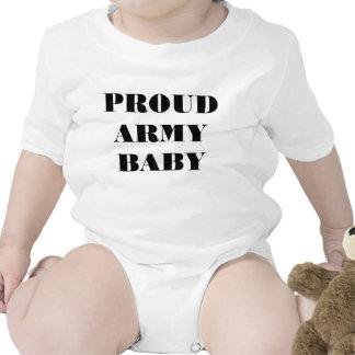 Bebê orgulhoso do exército do Creeper infantil Macacãozinho Para Bebês