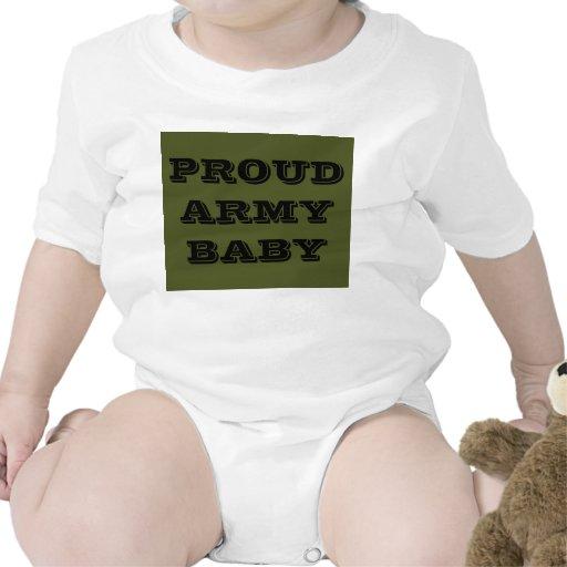 Bebê orgulhoso do exército do Creeper infantil Macacãozinho