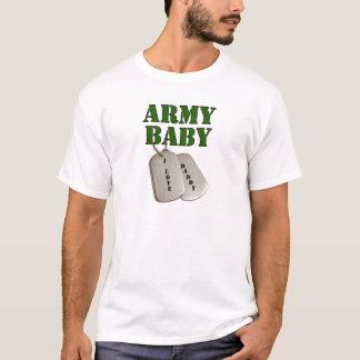 bebê-pai do EUA-exército Camiseta