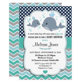 Bebé personalizado chá de fraldas do convite da