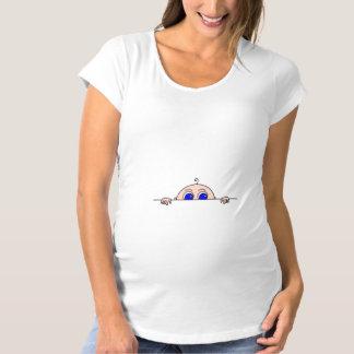 Bebê que espreita da barriga camiseta