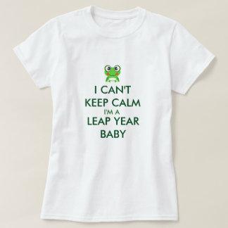 Bebê Shitrt do dia de pulo do ano de pulo Camiseta