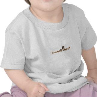 Bebê T da igreja do vaqueiro dos NL Tshirt