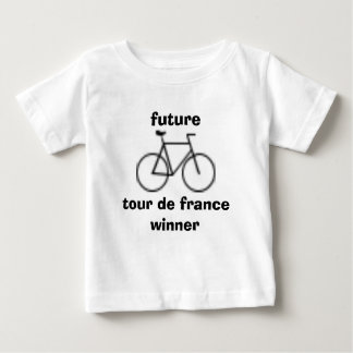 Bebê T de Futuro Visita De Fance Vencedor Camiseta Para Bebê