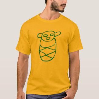 Bebé Taíno Verde Camiseta