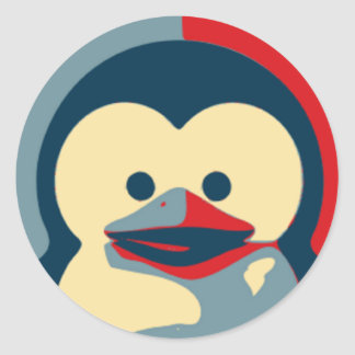 Bebê Tux Linux Adesivo