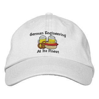 Bebendo alemão engraçado boné bordado