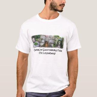 Beber na camisa de Glastonbury