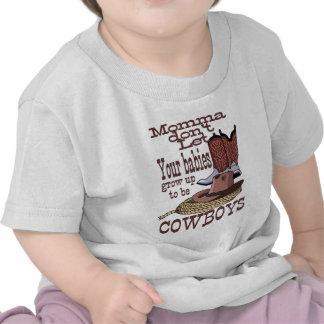 bebês do vaqueiro do atv de Sony Camiseta