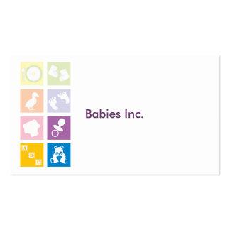 Bebês Inc. Cartão De Visita