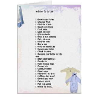 """""""Bebês para fazer cartão da lista"""""""
