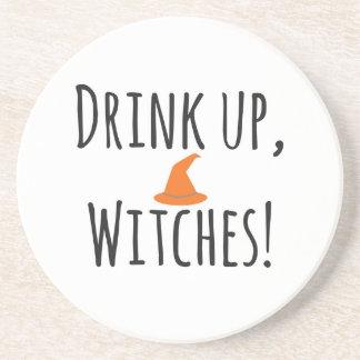 Bebida acima, bruxas, porta copos