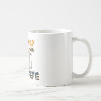 Bebida de n de Shaddap 'sua caneca de café do