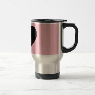 Bebida do favorito do chá do café do amor caneca térmica