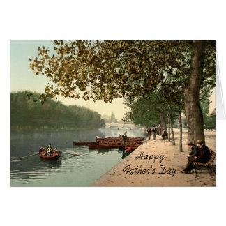 Bedford mim, cartão do dia dos pais de