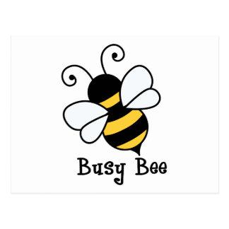 Bee2 ocupado cartão postal