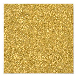 BEGE AMARELO DOURADO NEUTRO BACKGRO de glitter4 SA Impressão De Foto