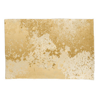 Bege e Splatter da pintura do ouro