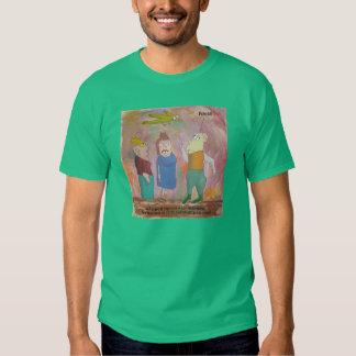 Behold! T-shirt das cores escuras