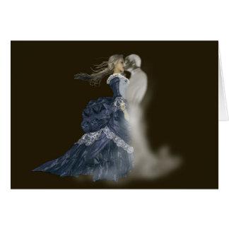 beijando o cartão do fantasma