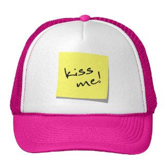 Beije-me etiqueta! boné
