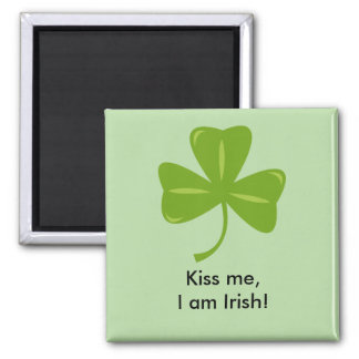 Beije-me, mim são ímã irlandês! imã