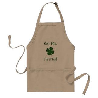 Beije-me que eu sou avental irlandês do Dia de São