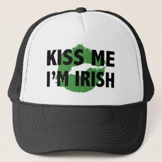 Beije-me que eu sou chapéu irlandês boné
