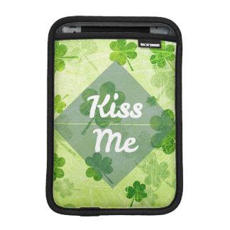 Beije-me trevo luva iPad mini