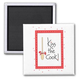 Beije o cozinheiro! ímã da cozinha imas de geladeira