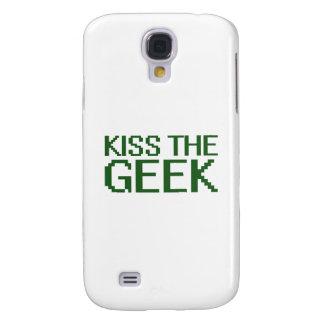 Beije o geek (o texto verde) capas samsung galaxy s4