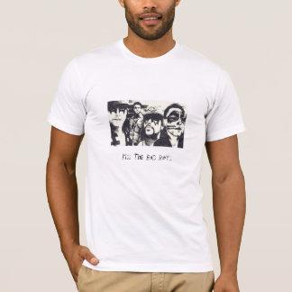 Beije os meninos maus camiseta