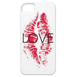 Beijo da capa de telefone do amor