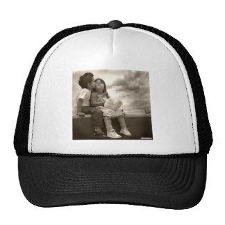 beijo do bebê boné