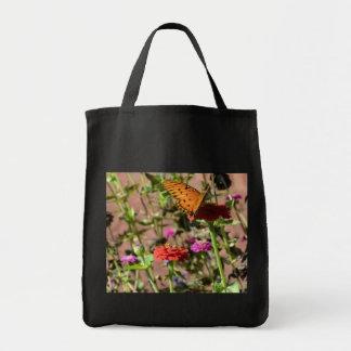 Beijo do outono sacola tote de mercado