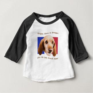 Beijos do francês de Griffon Fauve de Bretagne Camiseta Para Bebê