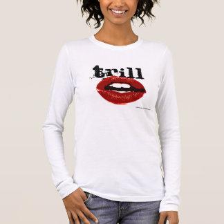 Beijos do Trill Camiseta Manga Longa