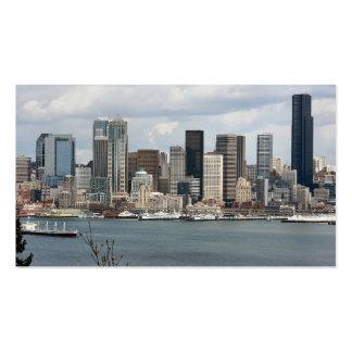 Beira-rio de Seattle Cartão De Visita
