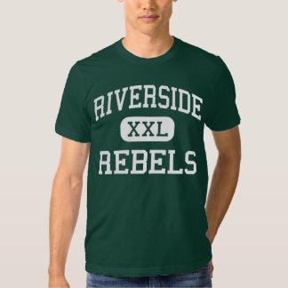 Beira-rio - rebeldes - alto - alturas de Dearborn T-shirt
