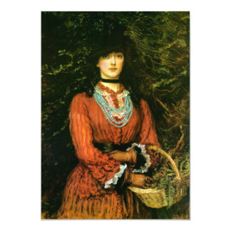 Belas artes da senhorita Eveleen Tennant Convite 12.7 X 17.78cm