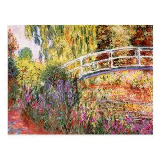 Belas artes de Claude Monet Cartão Postal