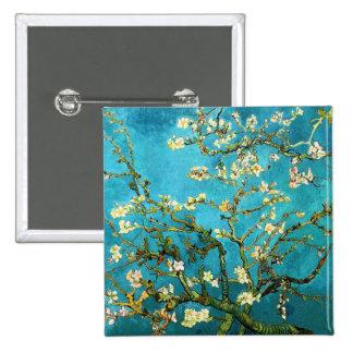 Belas artes de florescência da árvore de amêndoa bóton quadrado 5.08cm