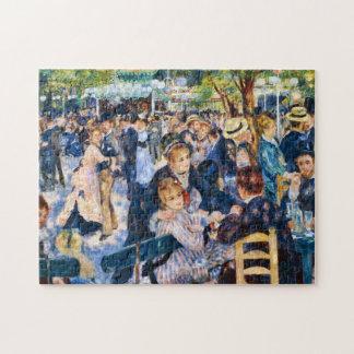 Belas artes de Galette do la de Renoir Le Moulin Quebra-cabeça