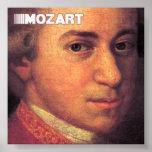 Belas artes de Mozart em canvas Posteres