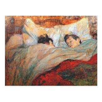 Belas artes de Toulouse Lautrec Cartão Postal