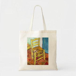 Belas artes de Vincent van Gogh da cadeira de Van  Bolsa